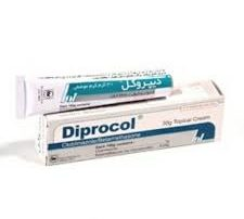 کرم دیپروکل برای پسوریازیس تناسلی همراه با قارچ