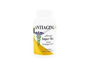 کاهش پسوریازیس سافت ژل سوپر میکس آنتی ایجینگ